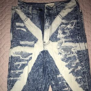 Aphrodite High Rise Ripped Jeans